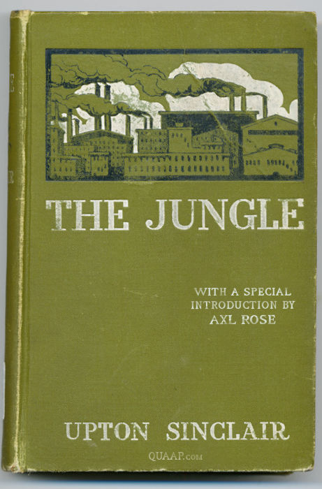 The jungle by Axl Sinclair