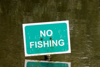 No fishing for poor people