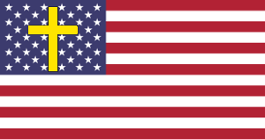 USA Christian Nation Flag